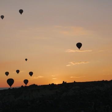 ため息の出る絶景!トルコ・カッパドキアのサンライズを撮影してみた。