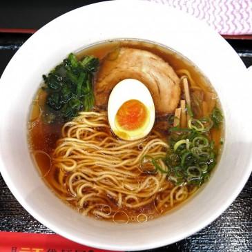 感謝!サラリーマンの強い見方!! JR渋谷駅山手線ホームで258円の一杯『日清ラ王 袋麺屋』