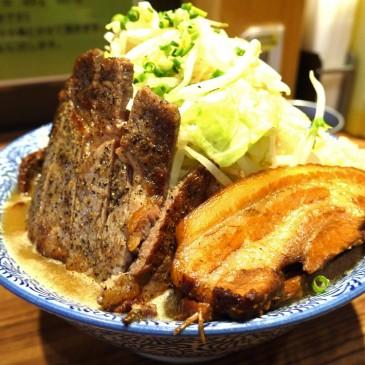 牛と豚の究極のコラボ!野菜ガッツリ二郎系ラーメン店の最高峰『ラーメン燈郎』