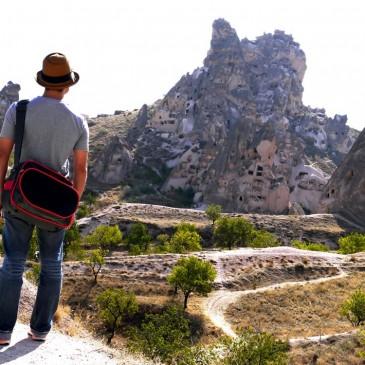 カッパドキア一帯で最も高い場所。尖った岩という意味を持つ小さな村『ウチヒサル』