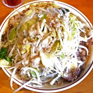 第一幕終了!食べログ4.04の神奈川・横浜にある二郎インスパイア系『豚星。』