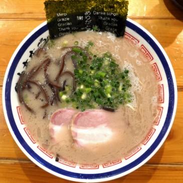 本格博多長浜ラーメン!博多出身者も大ハマリの豚骨ラーメン『田中商店』