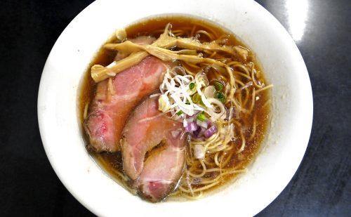上品なニボニボ系!絶品のレアチャーシュに4種類の煮干しを使用したあっさりな一杯『麺処 晴』