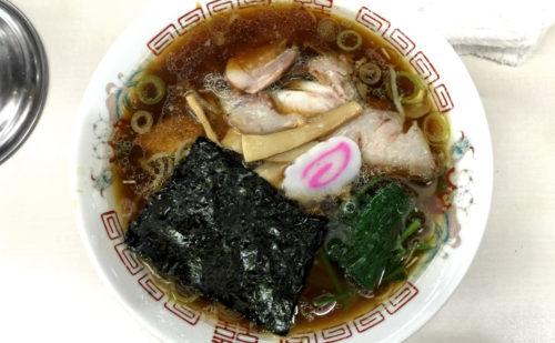 新潟5大ラーメンの1つ!東京で長岡生姜醤油ラーメンを頂く『青島食堂』